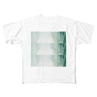 nhnの玄関 Full graphic T-shirts