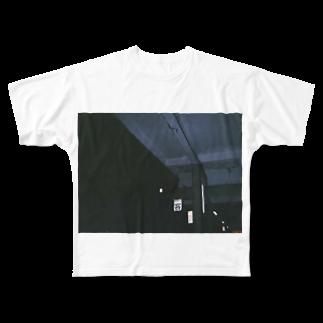 nhnの客     Full graphic T-shirts