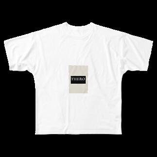 kokorokororokoのthero Full graphic T-shirts