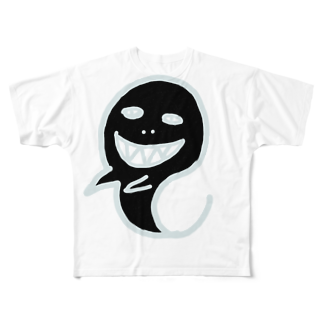 uwotomoのオバケ Full graphic T-shirts