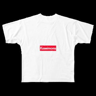 shishimairmkのkaseimoms Full graphic T-shirts