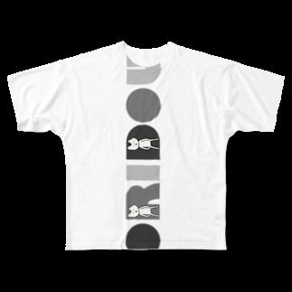 おりどうのおうちのシックなおりどう Full graphic T-shirts