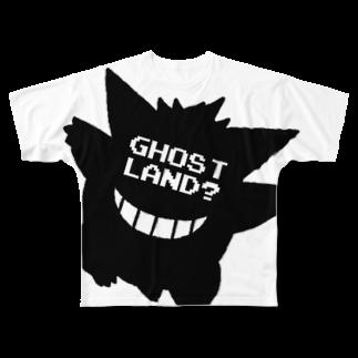GhostLandのあいつ? Full graphic T-shirts