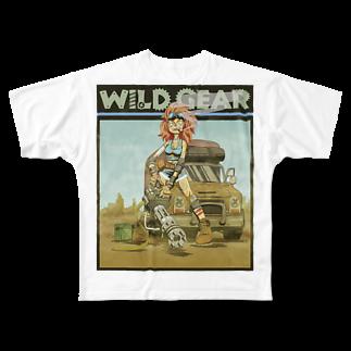 nidan-illustrationのWILD GEAR Full graphic T-shirts