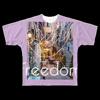 notteのじゆう Full graphic T-shirts