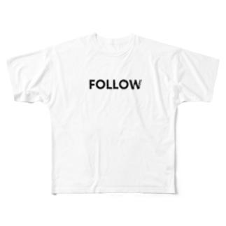 No Asejimi - FMH 白T Full graphic T-shirts