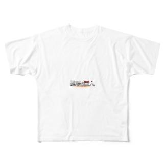 進撃の巨人 Full graphic T-shirts