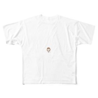 ガール Full graphic T-shirts