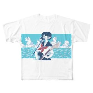 彼女はロックンローラー Full graphic T-shirts