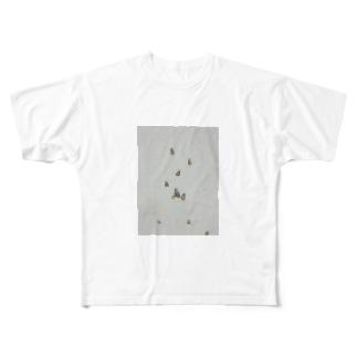 ブンブンブンブンブンブン Full graphic T-shirts