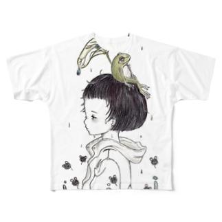 雨のアト Full graphic T-shirts
