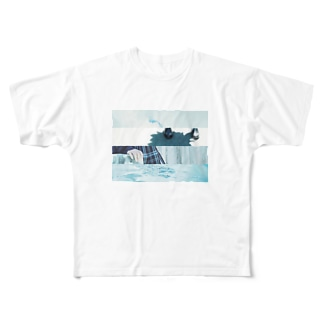 淡色のアオハル Full graphic T-shirts