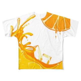 乾杯Tシャツ 向かって右 Full graphic T-shirts