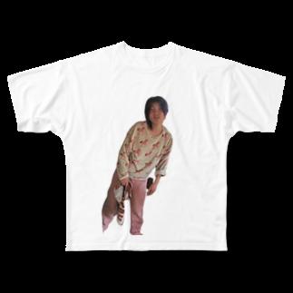 rinnosuke31のすっぴん Full graphic T-shirts
