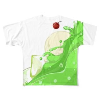 乾杯Tシャツ 向かって左 Full graphic T-shirts