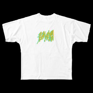 bokkyの君の町の時間 Full graphic T-shirts