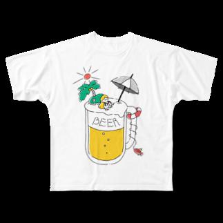 木村有希│Yuki KimuraのSUMMER BEER Full graphic T-shirts