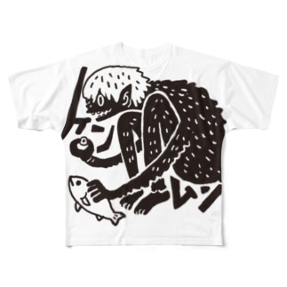 ケンムン Full graphic T-shirts