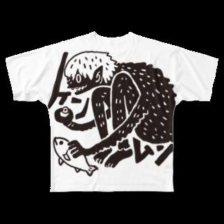 seiji takezoeのケンムン Full graphic T-shirts