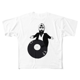 Botchy-Botchy (ボチボチ)のBollywood records Full graphic T-shirts