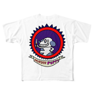 Kiligoya Companyのmurder puppy Full graphic T-shirts