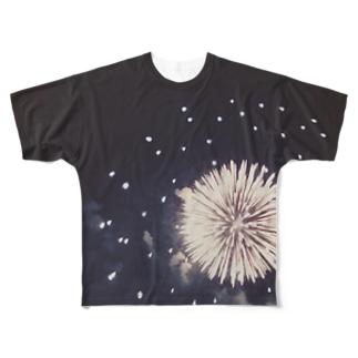 花火のかわいいところ Full graphic T-shirts