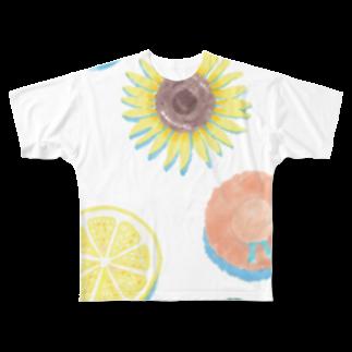 渡邊野乃香のお店のまるまるサマー Full graphic T-shirts