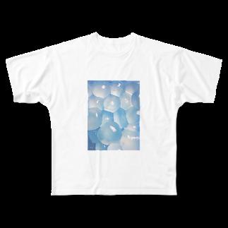 森 まどかの納涼わらびもちT Full graphic T-shirts