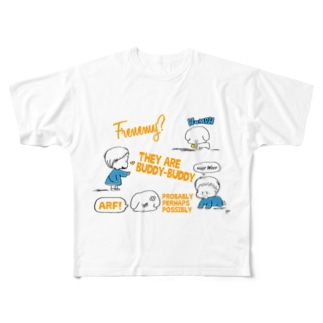 friend Full graphic T-shirts