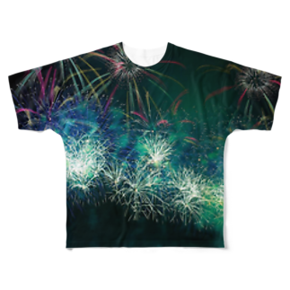 late_nakaの祭り Full graphic T-shirts