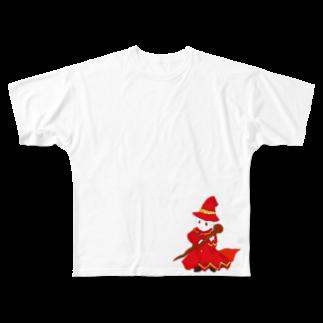 po_1mpom8mfuuinのソーサラー Full graphic T-shirts