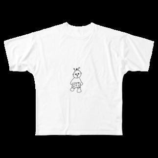 zunazunaのムーキー Full graphic T-shirts