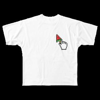 hiroyukimpsのsuikabaa Full graphic T-shirts