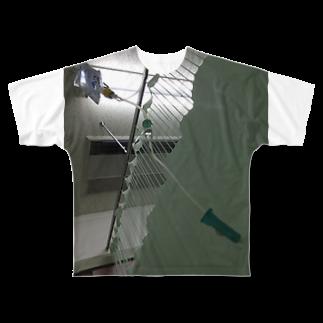 maik1982の点滴 Full graphic T-shirts