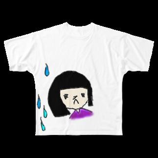 HaLの雨のひ Full graphic T-shirts