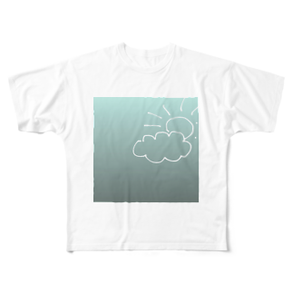 aoyoの晴れT Full graphic T-shirts