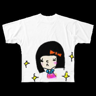 HaLのきらきらガール Full graphic T-shirts