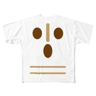はにわ Full graphic T-shirts