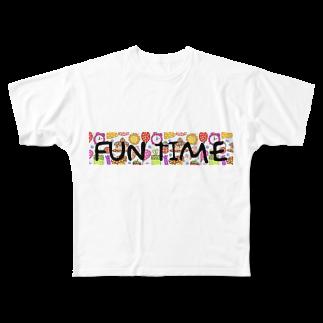 FUN_TIMEのFUN TIME Full graphic T-shirts