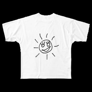 KAIT0のSanSan太陽サン🌞 Full graphic T-shirts