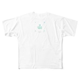 ちよにやちよに Full graphic T-shirts