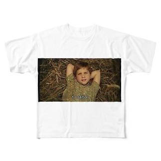 ちんぽだよシリーズ Full graphic T-shirts
