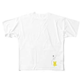 ハチクマさん Full graphic T-shirts