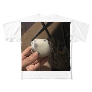 豆大福の時間や Full graphic T-shirts