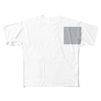 #B4B9C0 Full graphic T-shirts