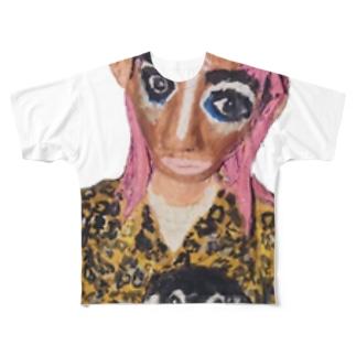 闇子 Full graphic T-shirts