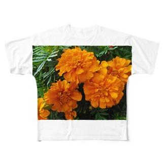 明るく爽やかに!! Full graphic T-shirts