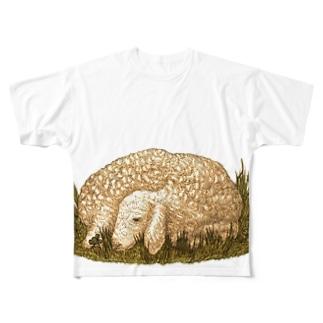 こひつじ Full graphic T-shirts