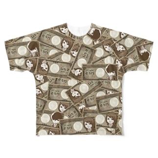 【両面フルグラ】MONEY×MONEY Full graphic T-shirts