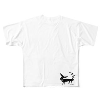 KUROINUさん Full graphic T-shirts